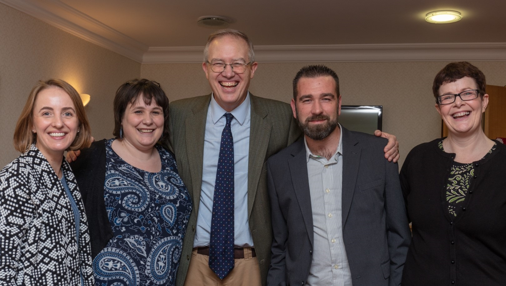 John Baron with the BBW CVS Event Management Team Pictured in 2019